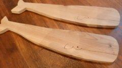 色々つかえる木工でつくったクジラさん