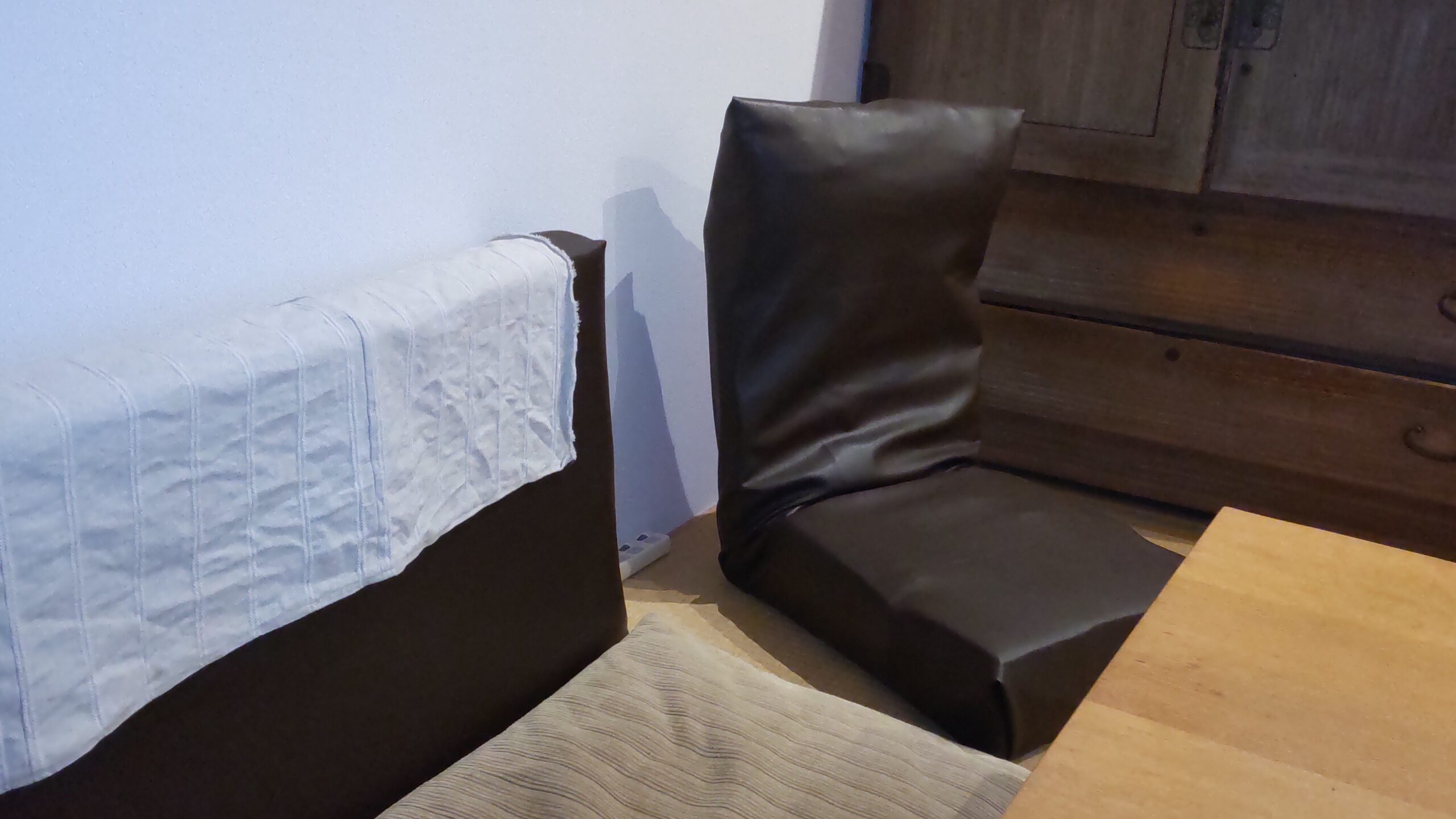 いろいろなソファや座椅子を手作り